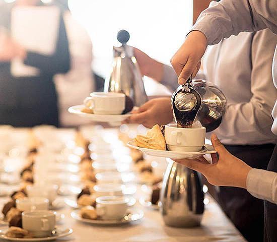 Как организовывается кофе-брейк
