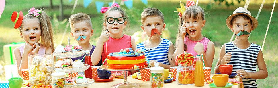 Выбор тематики детского праздника